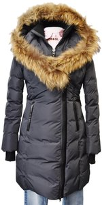 Mackage Fur Puffer Quilted Coat