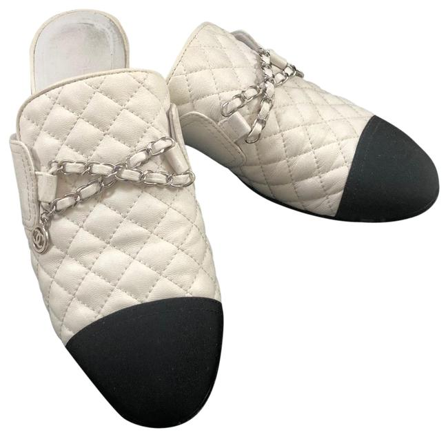 Item - Quilted Leather Chain Mules Sneakers Size US 9 Narrow (Aa, N)