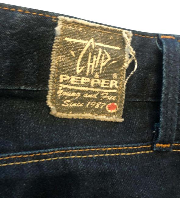 Item - Blue Dark Rinse Boot Cut Jeans Size 4 (S, 27)