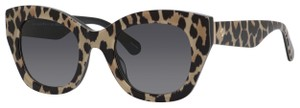 Kate Spade Kate Spade Women's Sunglasses JALENA/S 49mm Black Spotted Brown 7RM