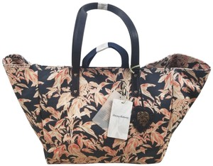 Tommy Bahama Tote in navy and pink