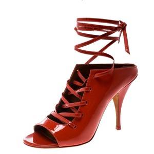 Givenchy Patent Leather Red Sandals