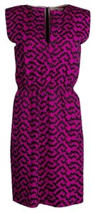 Pink Maxi Dress by Balenciaga Contrast Embroidered Sleeveless