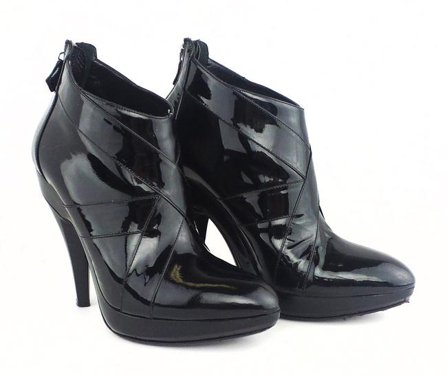 Item - Black Patent Leather Boots/Booties Size EU 40 (Approx. US 10) Regular (M, B)