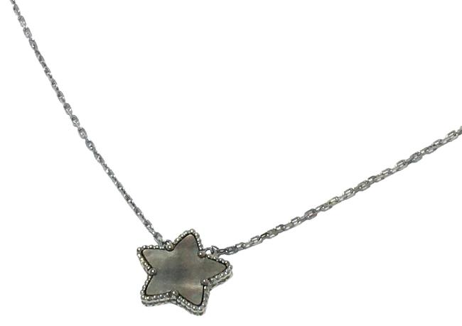 Item - White Gold Lucky Star 18k Small Necklace