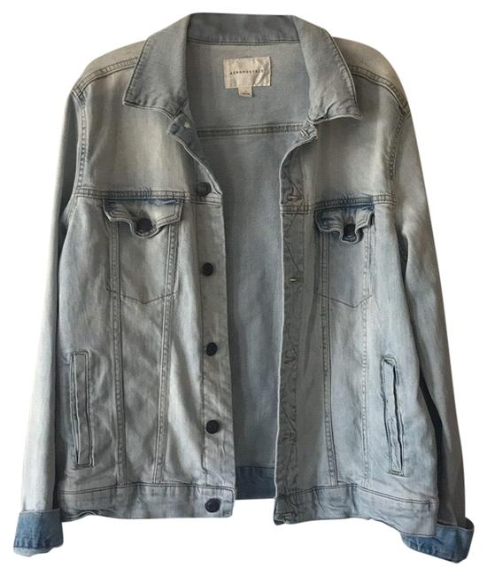 Item - L Mens Jean Pre Owned Washes Once Only Jacket Size 12 (L)