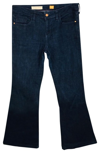 Item - Pilcro and The Letterpress Dark Rinse High Flare Leg Jeans Size 10 (M, 31)