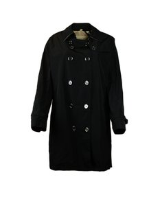 Burberry Brit Double Breasted Large Raincoat