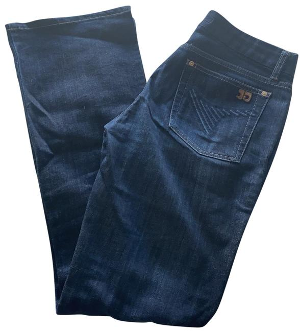 Item - Dark Blue Rinse Muse Boot Cut Jeans Size 4 (S, 27)