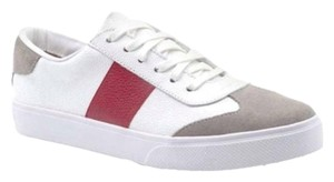 KAANAS Sneakers Leather Suede Lace Up White Athletic