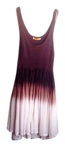 Alice + Olivia short dress Ombre brown & cream + Crochet Ballerina-style Flowy Sleeveless Breezy Feminine on Tradesy
