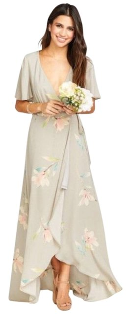 Item - Gray Sophia Lily Showers Long Casual Maxi Dress Size 6 (S)