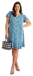 Draper James short dress Blue on Tradesy