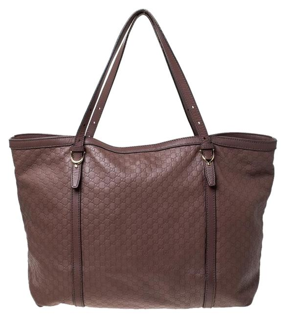 Item - Bag ssima Medium Nice Old Rose Leather Tote