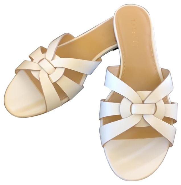 Talbots Ivory Keri Woven Sandals Size US 8.5 Regular (M, B) Talbots Ivory Keri Woven Sandals Size US 8.5 Regular (M, B) Image 1