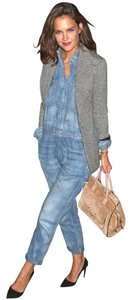 Almost Famous Clothing Denim Katie Holmes Boiler Utility Dress
