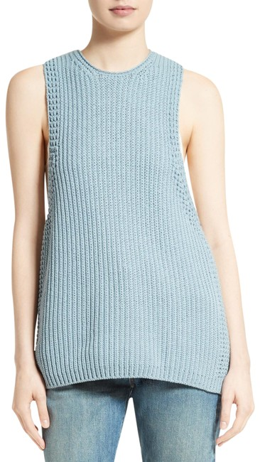 Item - Pale Blue Waffle Knit Tank Top/Cami Size 0 (XS)