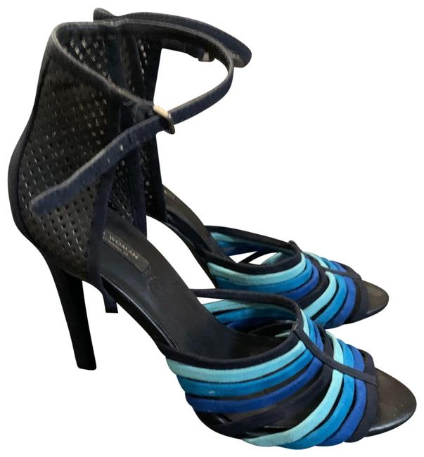 Item - Blue Stiletto Sandal Pumps Size US 8.5 Regular (M, B)