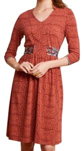Matilda Jane short dress orange on Tradesy