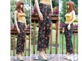 Dior Multi-floral Christian By John Galliano Vintage Floral Denim Trouser Pants Size 2 (XS, 26) Dior Multi-floral Christian By John Galliano Vintage Floral Denim Trouser Pants Size 2 (XS, 26) Image 7
