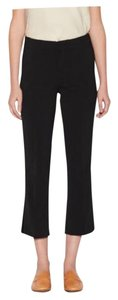 Brochu Walker Crepe Career Office Capri/Cropped Pants Black