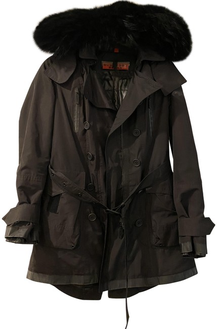 Item - Black Sports Down Parka Coat Size 6 (S)