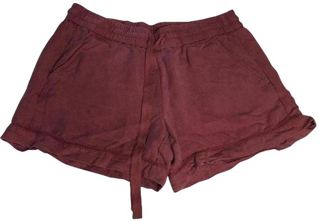 Item - Dusty Mauve Pull On Lace Trim and Drawstring Shorts Size 4 (S, 27)