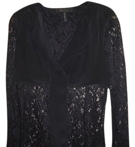 BCBGMAXAZRIA Lace Top black