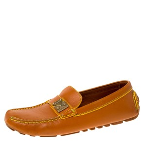 Louis Vuitton Leather Brown Flats