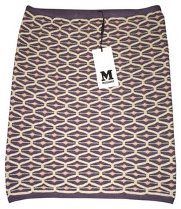 M Missoni Tube Pencil Skirt Purple