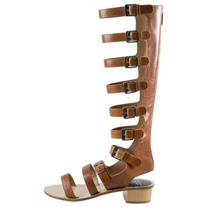 Laurence Dacade Leather Brown Sandals