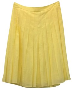 Theory Skirt Yellow