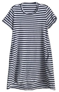sacai short dress Blue and White Dixie Cut Out on Tradesy