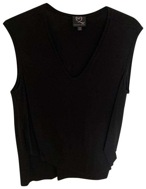 Alexander McQueen Black With Rouging Tank Top/Cami Size 12 (L) Alexander McQueen Black With Rouging Tank Top/Cami Size 12 (L) Image 1