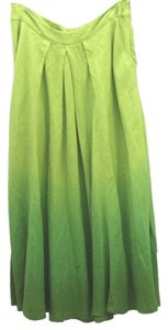 Lafayette 148 New York Skirt Chartreuse