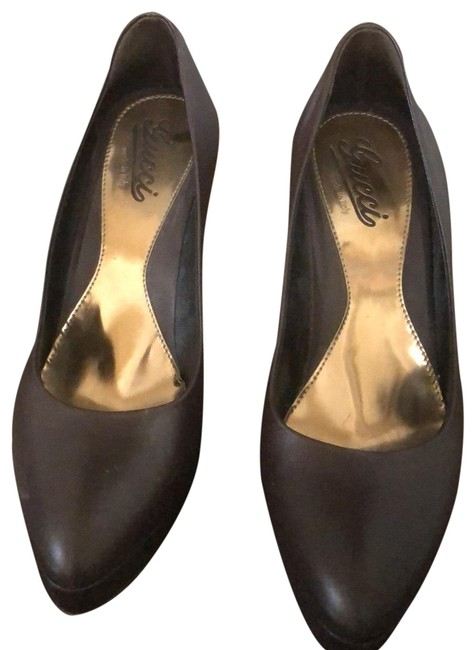 Item - Brown Pump Platforms Size EU 38.5 (Approx. US 8.5) Narrow (Aa, N)