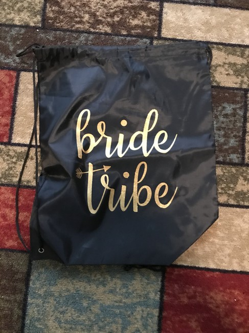 Item - Black and Gold Bride Tribe Bridesmaid Bag Other