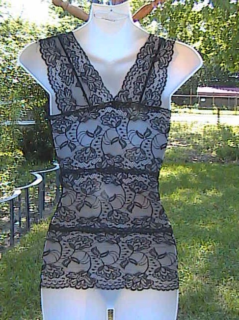 Unknown New W/Out Tag Lace Top Black