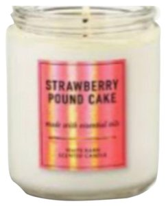 Bath and Body Works Not for Sale: Single Wick Candle 7oz Strawberry New Item