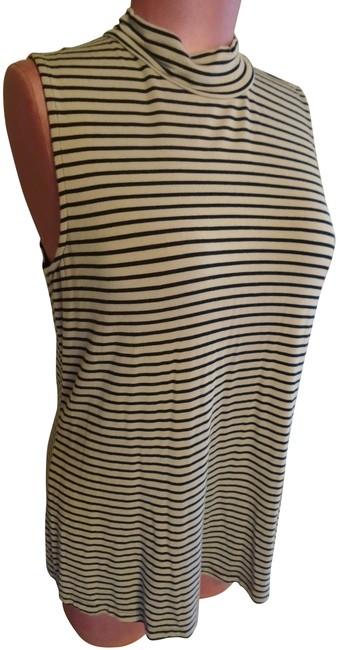 Item - Neutral Mock Turtle Shell Tank Top/Cami Size 10 (M)