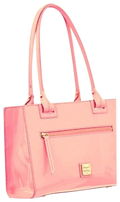 Item - Janine Pale Pink Patent Leather Tote