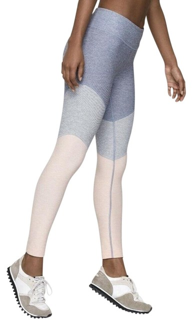 Item - Pink Gray Multi Color Long Pant Activewear Bottoms Size 6 (S, 28)