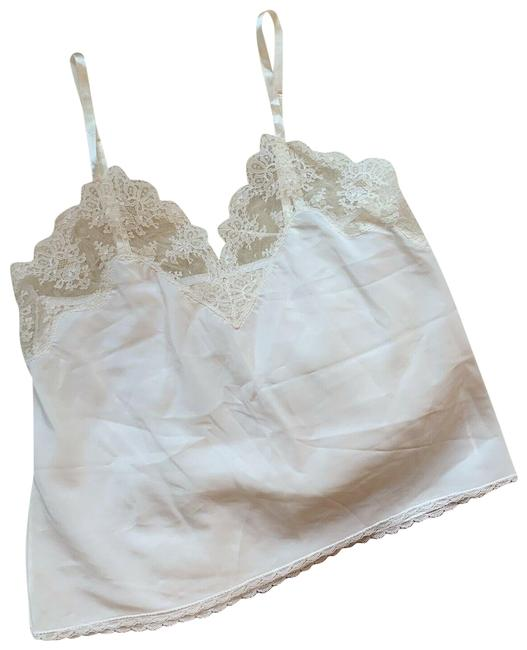 Item - White Vintage Braziere Lace Lingerie Pajama Teddy Tank Top/Cami Size 8 (M)