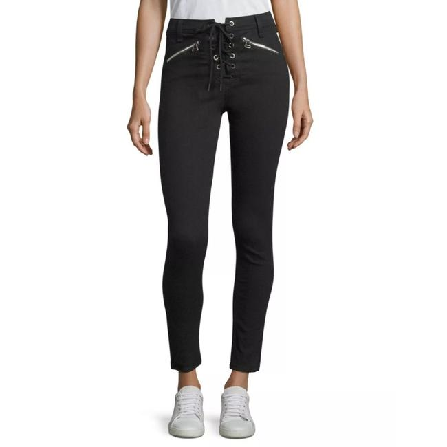 Item - Black Gia Lace Up Skinny Jeans Size 8 (M, 29, 30)