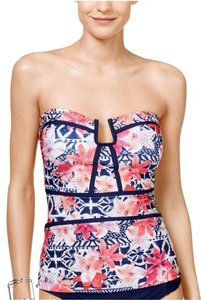 Island Company EAU TANKINI TOP CUT-OUT U-SHAPED WIRE BETWEEN CUPS REMOVABLE ADJUSTABL