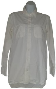 Broadway & Broome Button Down Shirt white
