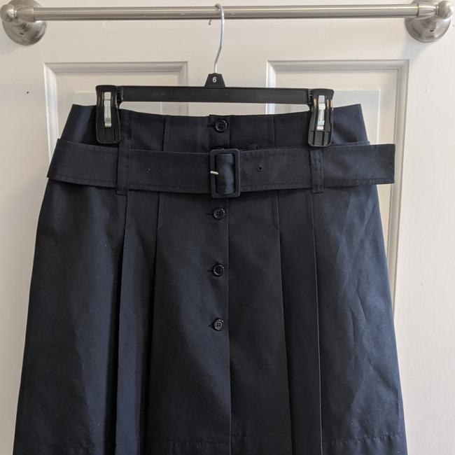 Item - Navy Pleated A Line Skirt Size 8 (M, 29, 30)