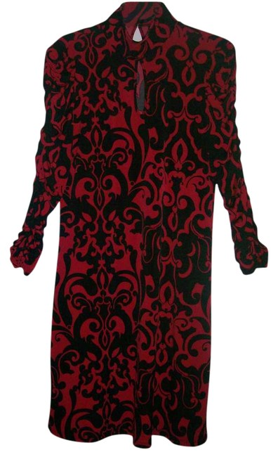Preload https://item2.tradesy.com/images/worthington-black-and-red-knee-length-workoffice-dress-size-10-m-270556-0-0.jpg?width=400&height=650