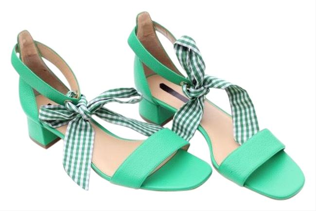 Item - Green Tie-up Sandals Size US 10 Regular (M, B)