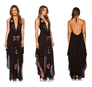 Black Multi Maxi Dress by Indah